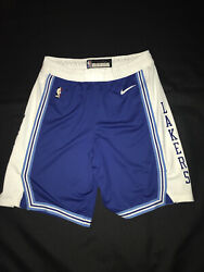 Lakers Shorts Hwc Blue Team Issued Authentic Size 42+2 Nike Pro Cut 2020-21