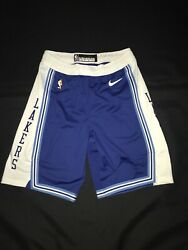 Lakers Shorts Hwc Blue Team Issued Authentic Size 40+2 Nike Pro Cut 2020-21