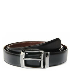103443 /casual Line 1 3/8in / Belt Reversible/black Leather And Mar