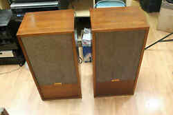Hartley Holton Jr W/ Full Range Model 217 Drivers And Extra Tweeters Wood/ Brown