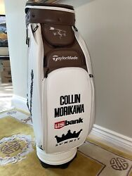 2021 Taylormade British Open Collin Morikawa Tour Issue Staff Golf Bag Ryder Cup