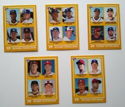 2018 Topps On Demand 1978 Tribute Rookies Rc 5-card Set Ohtani, Acuna ++ Pr 408