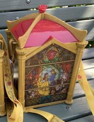 Tokyo Disney Resort Popcorn Bucket Beauty And The Beast Bell Stained Glass 2020