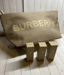 Burberry cosmetic bag with perfume $39.00