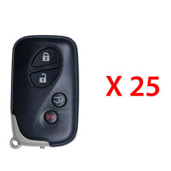 Replacement For Lexus 2010 - 2015 Prox Remote Key Fob 4b Hyq14acx 5290 25 Pack