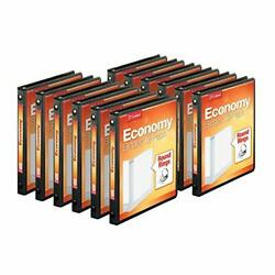 Cardinal Economy 3-ring Binders 1/2 Round Rings Holds 125 Sheets Clearvue Pr...