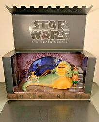 Star Wars Black Series Sdcc Exclusive Jabba The Hut's Throne Room New Sealed Nib