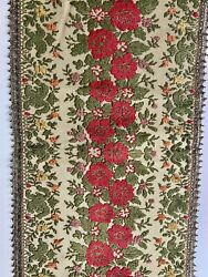 Vintage TAPESTRY 3 PIECE Table Runner and Accents GROUP MUYLLE BELGIUM