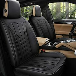 Aoog Leather Car Seat Covers Leatherette Automotive Seat Covers For Cars Suv ...