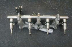 4.5l V8 F136 Fuel Injection Rail Pipe And Injector 250777 Ferrari 458 Challenge