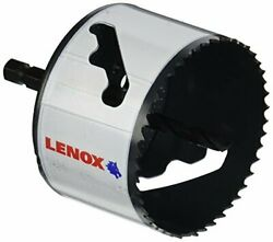 Pack Of 4 Lenox Tools Hole Saw With Arbor Speed Slot 3-inch