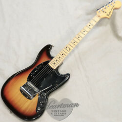 Fender Usa Mustang And03978 Sunburst M Vintage Used Electric Guitar With Tough Case