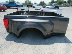 2021 Ford F350sd Drw 8and039 Truck Bed Box W/gate W/lights Taillights Lamps Nto Grey