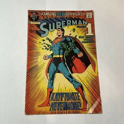 Superman 233 - Classic Neal Adams Cover, All Kryptonite Destroyed