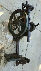 Champion Blower And Forge Co Antique Post Drill Press | Model Unknown | Usa