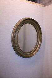 19th Century Oval Wall Mirror Fully Restored