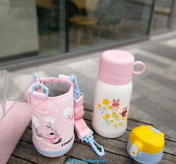 Rare 2019 China Starbucks Happy Time Pig Vacuum Straw Cup Pink Cup Set Thermos