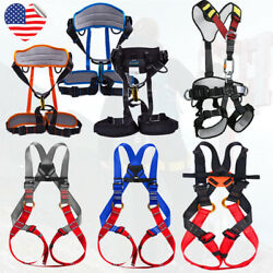 Full Body Safety Adult Kids Child Belt Climbing Harness Fall Rappel Protection