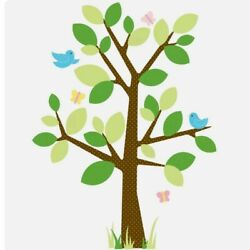 Roommates Peel Stick Wall Decals Tree Tree of Life Never Used Whimsical Forest
