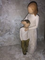 Willow Tree -mother And Son