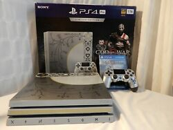 Ps4 Pro - God Of War - Console - Leviathan Gray - Limited Edition - Complete