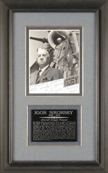 Igor Sikorsky - Autographed Inscribed Photograph 04/10/1967