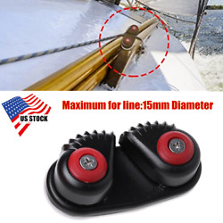 Boat Fast Entry Cam Cleat For Line Sizes Up To 15mm For Sailboat Kayak Us Stock