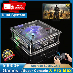 New Wifi Super Console X Pro 4k Hd Tv Video Game Consoles For Ps1/psp/n64/dc