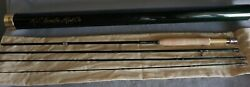 Winston Pure 4 Piece 9and039 Fly Rod 5wt W/ Aluminum Container And Sock Mint Condition