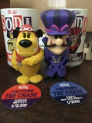Funko Soda Hanna Barbera Wacky Races Dick Dastardly And Muttley Chase Figures
