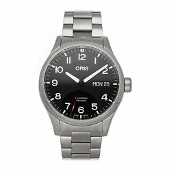 Oris 55th Reno Air Races Limited Edition Steel Auto 45mm 01 752 7698 4194-set Mb
