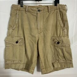 American Eagle Outfitters Mens Size 36 Beige Classic Length Cargo Shorts