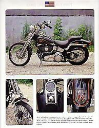 1988 Harley Davidson Fxsts Softail Springer 85th Anniversary Motorcycle Article