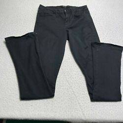 Joeand039s Jeans Womenand039s Size 30 Jean Military Chelsea Micro Flare Skinny Pants Black