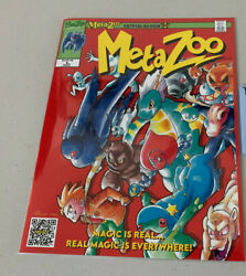 Metazoo Illustrated Novel Comic Chapter 1 Issue 1 - 1st Edition Print - Sealed