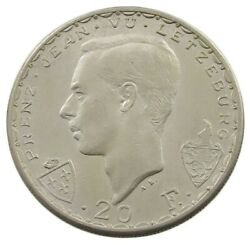 Luxembourg 20 Francs 1946 Top Lq 575