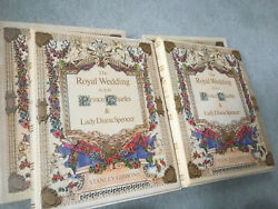 Stanley Gibbons 1981 Royal Wedding Stamp Collection In 2 Albums Princess Diana
