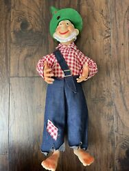 Vintage Mountain Dew Hillbilly Willy Doll