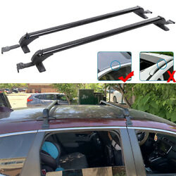 Car Top Roof Rack Cross Bar 43.3 Luggage Bicycle Carrier Aluminum Universal