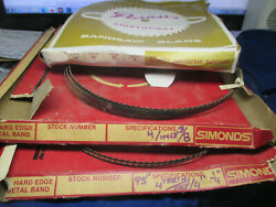 Lot 3- 95 Inch Bandsaw Blades New Old Stock For Powermatic Peerless- Simmonds