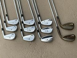 Nike Vr Pro Blades 2-pw Vr Forged 52/58 X100 Shafts +.5andrdquo Rare 11 Clubs Total Euc
