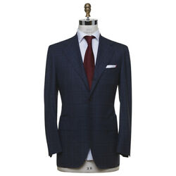 New Kiton Suit 100 Wool 14 Micron Size 40 Us 50 Eu R8 S21a109