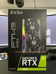 Evga Geforce Rtx 3080 Ftw3 Ultra Gaming Lhr Nvidia Graphics Card - New Sealed