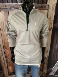 William Murray Antique Gray 1/2 Zip Golf Pullover Size Xl Nwot