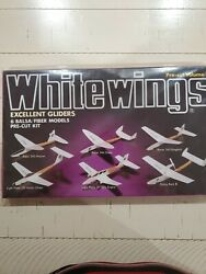 Whitewings 6 Balsa/fiber Model Airplanes Gliders Vol3 Unopened Free Shipping