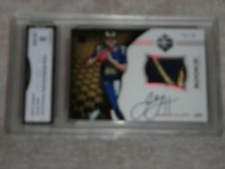 Jared Goff 2016 Limited 105 10/10 Rookie Patch Autograph Ruby