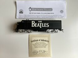 Rare The Beatles Hawthorne Village Collectible Model Trains