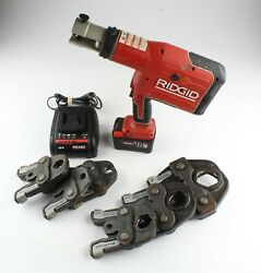 Ridgid Rp 330 Press Tool With 6 Jaws 1 To 2