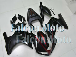 Black Red Fairing Fit For 2003-2008 2004 2005 2006 2007 Sv650 Plastics Abs Aab