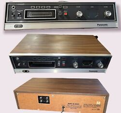 Vintage Panasonic Rs-806us 8-track Stereo Cartridge Tape Deck Player And Recorder